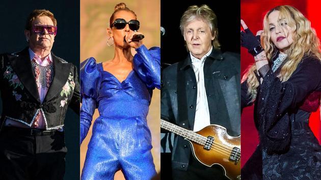 Bikini Elton John, Céline Dion, Paul McCartney, Madonna… Les concerts les plus attendus de 2020