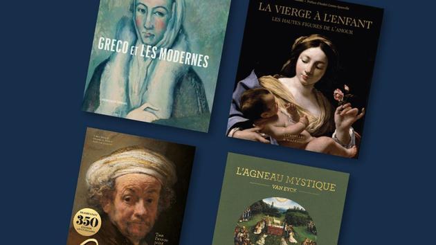 Livres Greco, Rembrandt, Van Eyck… Tout l'amour de l'art dans de beaux albums pour Noël