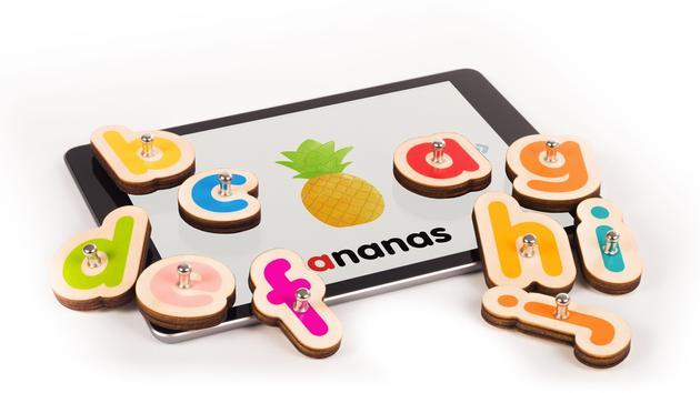 Jouets Marbotic, des jouets en bois pour apprendre sur iPad