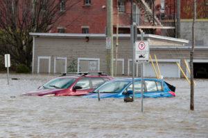Halloween Les inondations, événement climatique de 2019