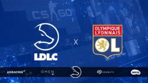 Football Team LDLC, l'équipe gaming du e-commerçant, devient partenaire de l'Olympique lyonnais et substitute de nom
