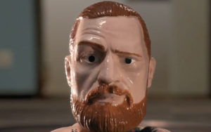 Jouets Conor McGregor dans une baston de jouets pour Reebook