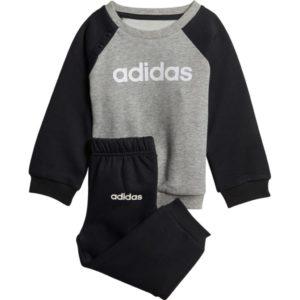 Bebe Survêtement Multisport Bébé Adidas I Lin Jogg FL – Gris, 3 mois à 4 ans