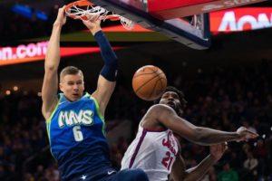 Basket Basket – NBA – Les Dallas Mavericks s'offrent les Philadelphia 76ers
