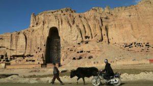 Animaux La falaise des Bouddhas de Bamiyan rongé par le changement climatique