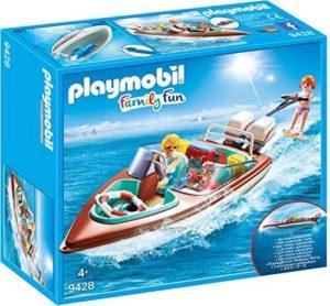 Jouet Jouet Playmobil 9428 – Vacanciers avec Vedette et Moteur Submersible