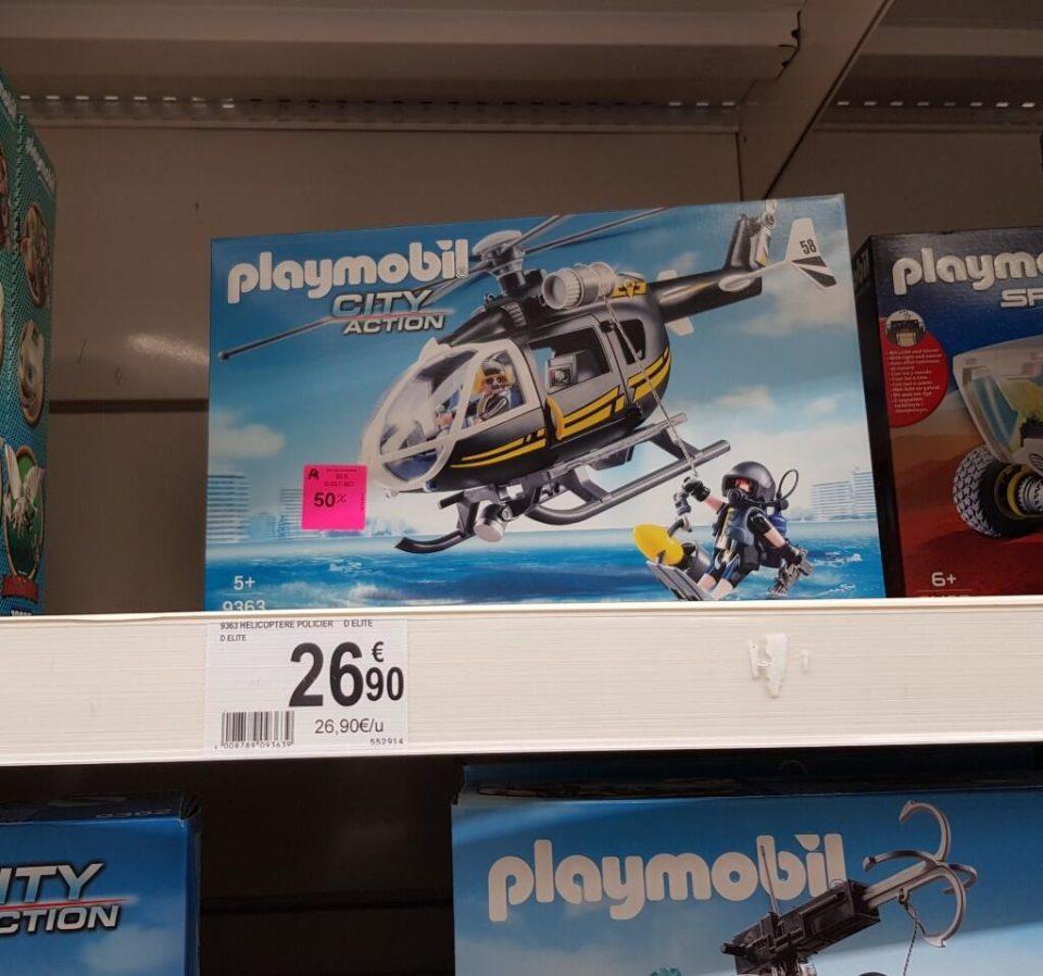 Jouet Jouet Playmobil Hélicoptère et policiers d'élite (9363) – Bouliac (33)
