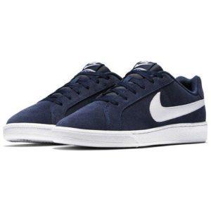Chaussures de sport Baskets Nike Court docket Royale Suede – Bleub Du 40 au 46