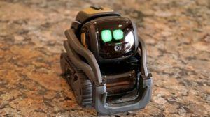 Bureau Le petit robotic du bureau Vector revient d'entre les morts