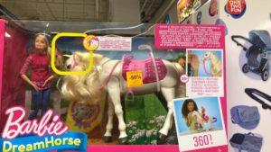 Jouets Sélection de Jouets Enfant en promotion – Ex: Poupée Barbie Dreamhorse et son cheval – La Défense (92)