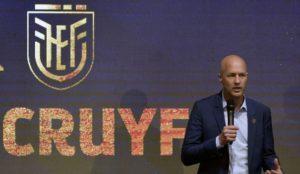 Football Equateur: Jordi Cruyff nouveau sélectionneur