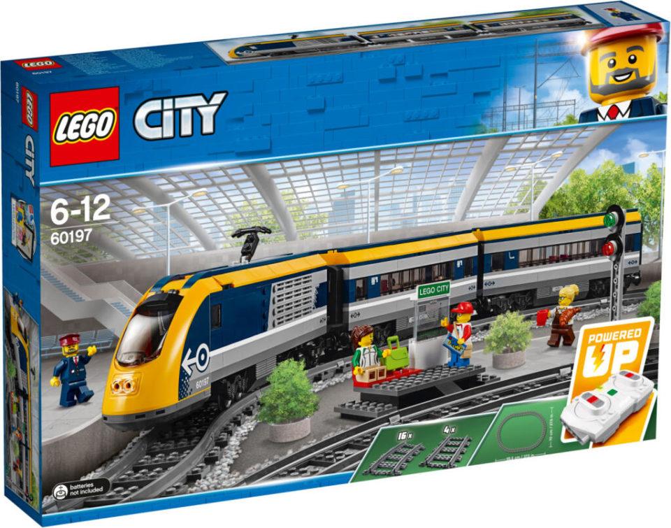 Jouet Jouet Lego Metropolis – Le command de passagers télécommandé (60197) – Cergy (95)