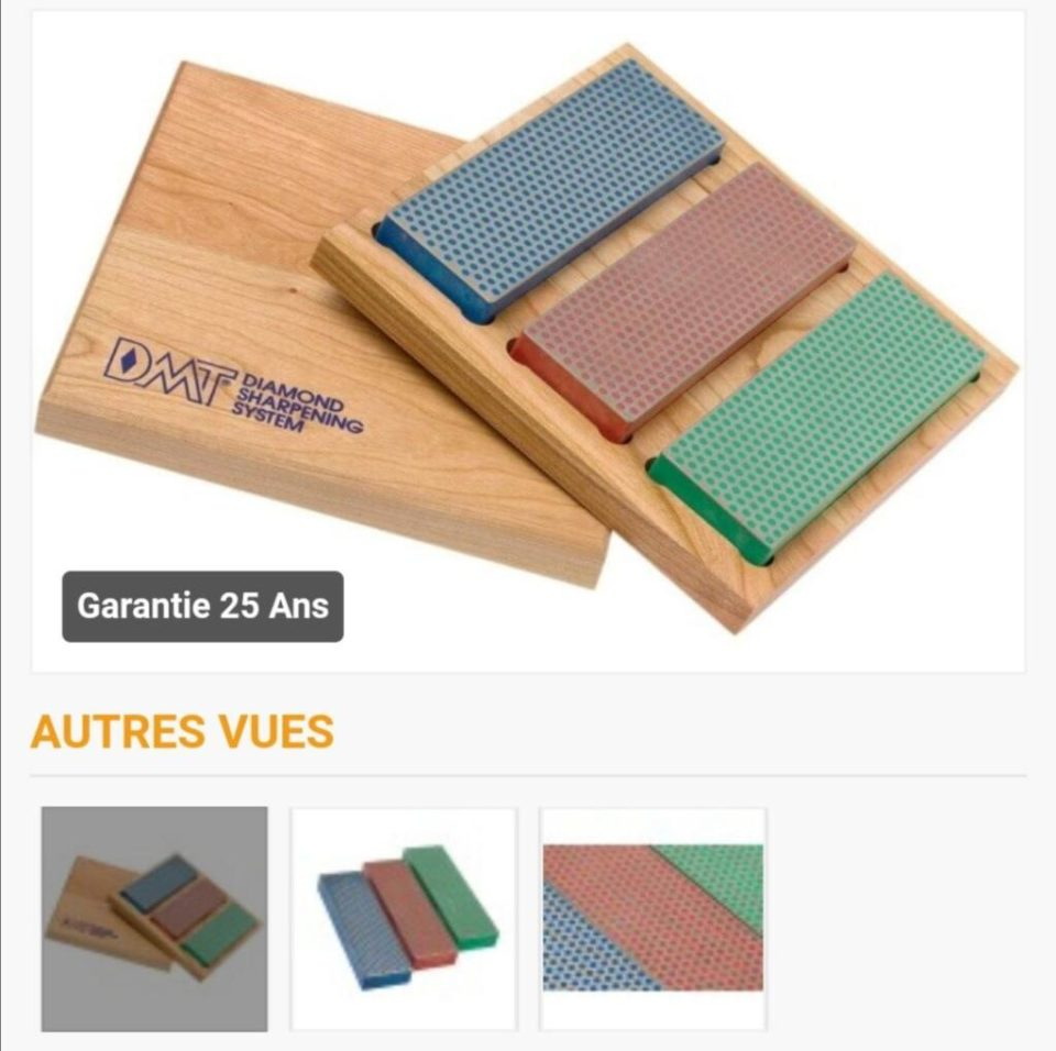 Rasage Kit de pierres à aiguiser diamant DMT W6EFC avec boîte en bois (inkstore.fr)
