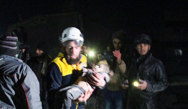 Bureau Syrie : au moins 29 civils tués en 24 heures, 700 000 déplacés depuis décembre