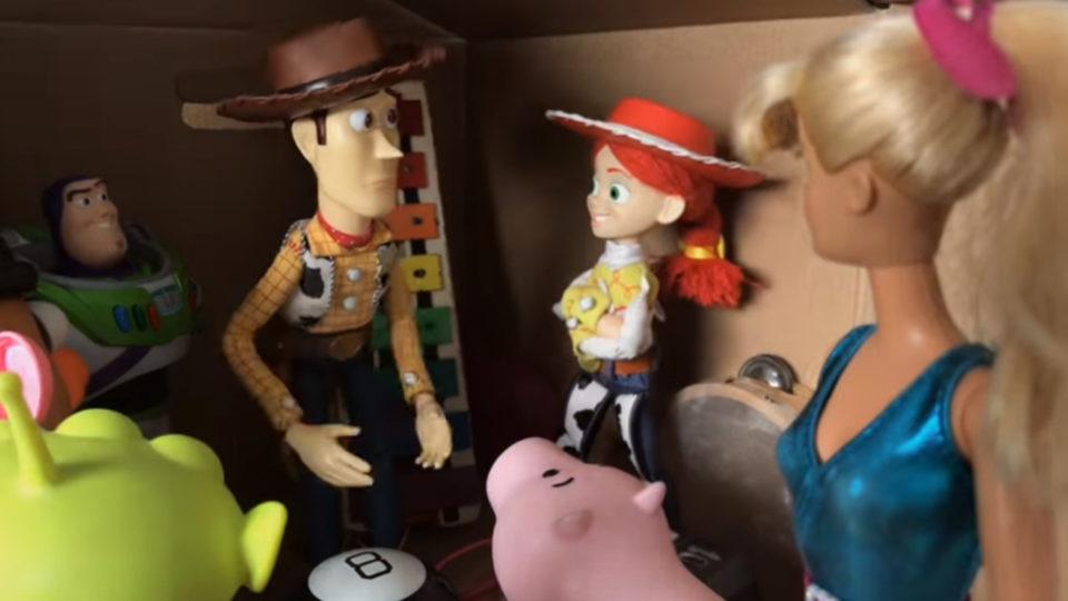 Jouets Toy Story 3 : deux fans ont refait le movie en discontinuance-motion sur 8 ans !