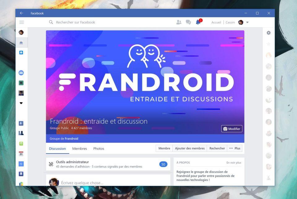 Bureau Windows 10 : l'application Facebook ne fonctionnera plus dès la fin du mois