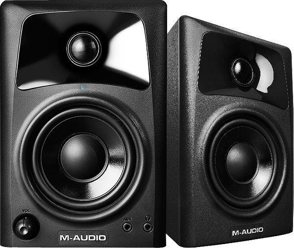 Casque audio Paire d'Enceintes de monitoring M-Audio Studiophile AV32