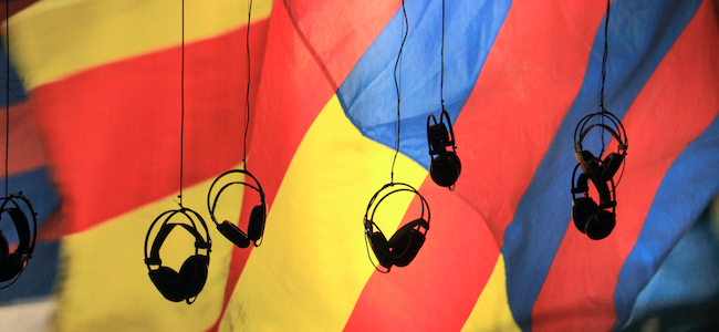Casque audio Les podcasts ont trouvé nouvelle plateforme à leur pied
