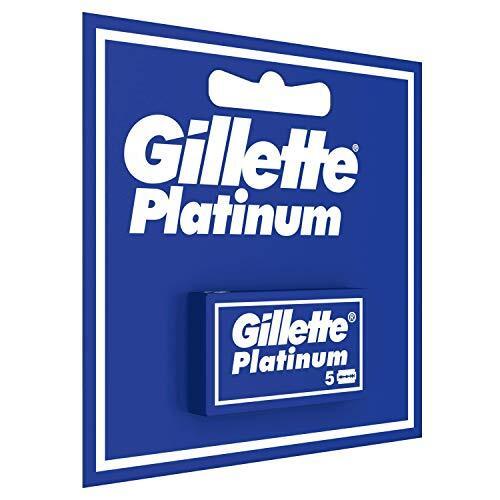 Rasage Boite de 5 Lames de rasoir Gillette Platinum