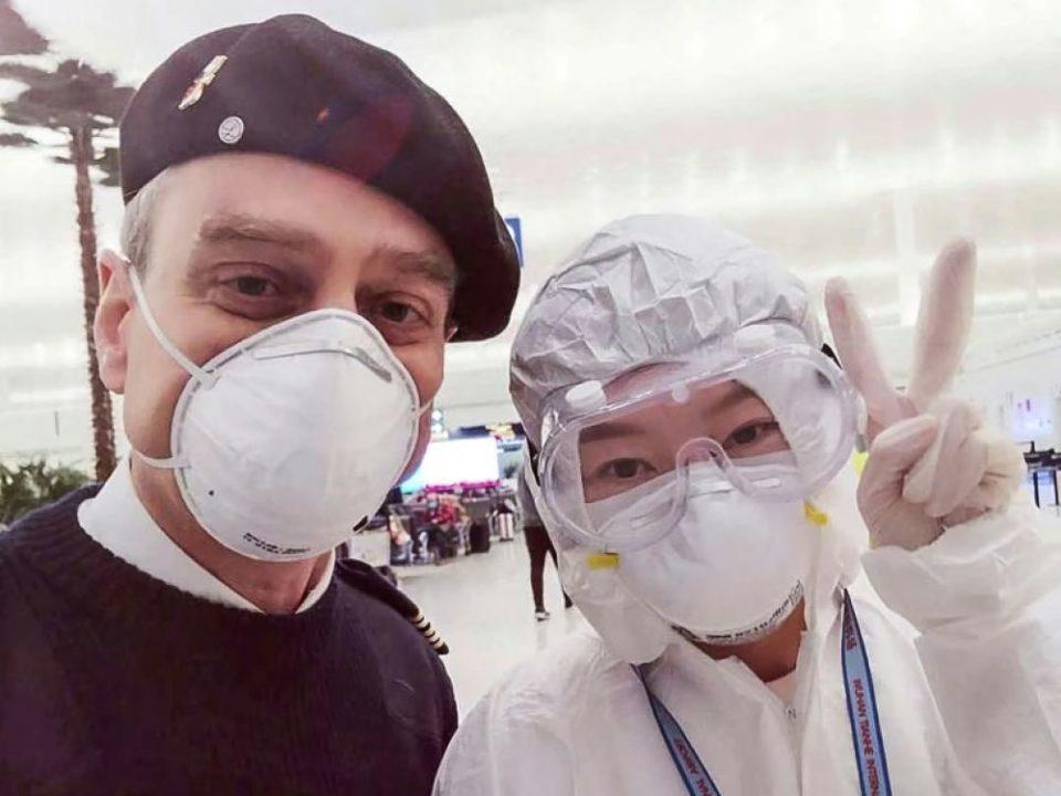 Bagage Dans Wuhan fantôme, le consulat de France «solidaire» des Chinois