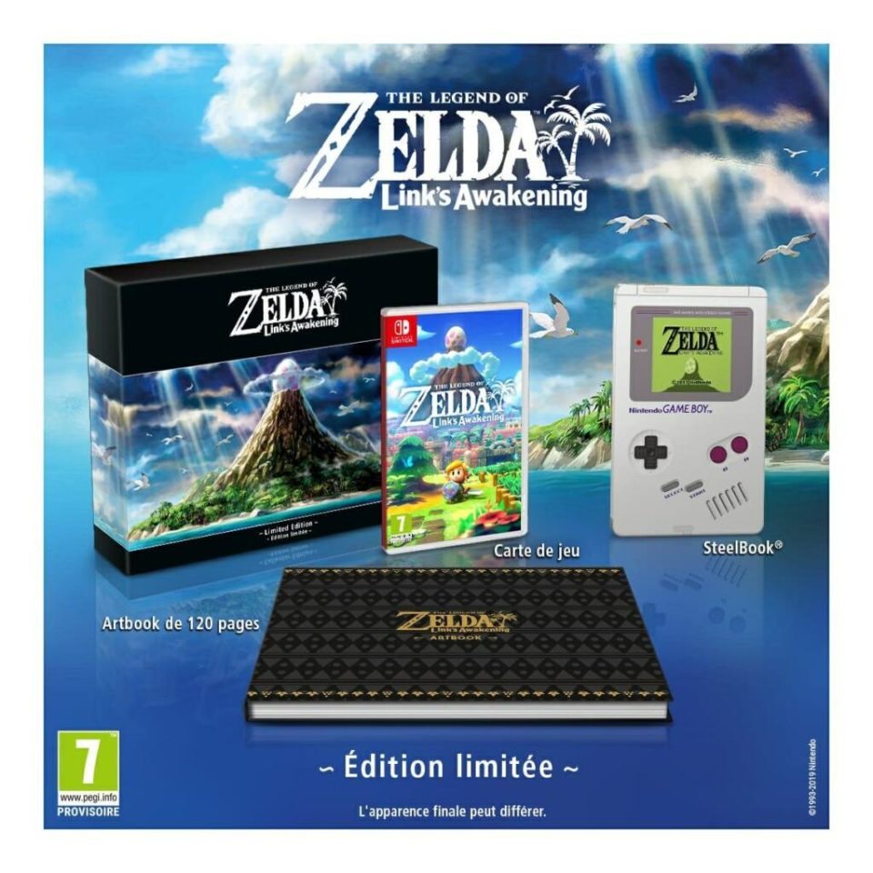 Jouets The Story of Zelda – Link's Awakening Version Limitée (Montigny-le-Bretonneux 78)