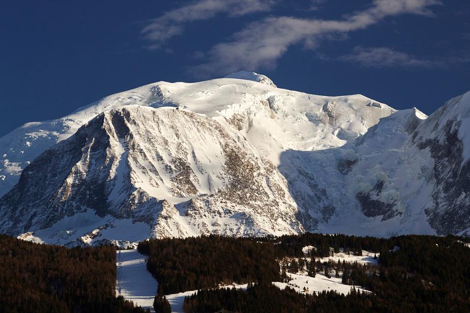 Maillot de bain Le mont Blanc victime du climat et de sa notoriété