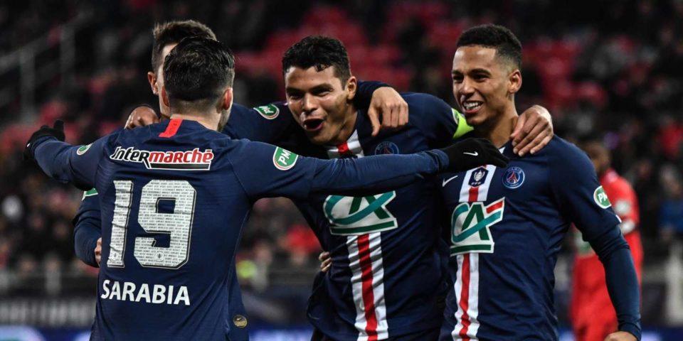 Football Coupe de France : le PSG écrase Dijon et rejoint les demi-finales