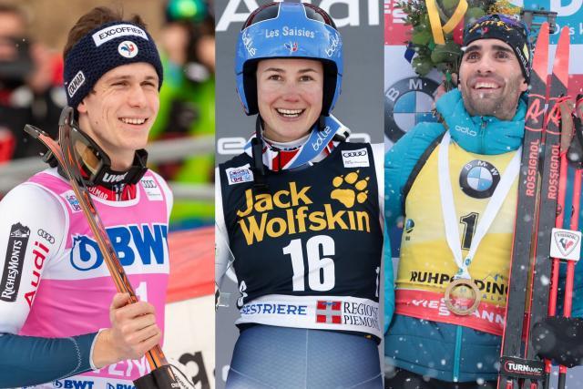 Ski Ski alpin-Biathlon – Sports d'hiver : une nouvelle journée dorée pour la colonie tricolore