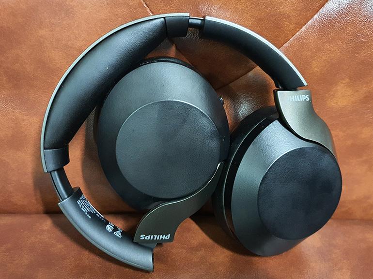 Casque audio Take a look at Philips PH805 : un premier casque à réduction de bruit active en demi-teinte