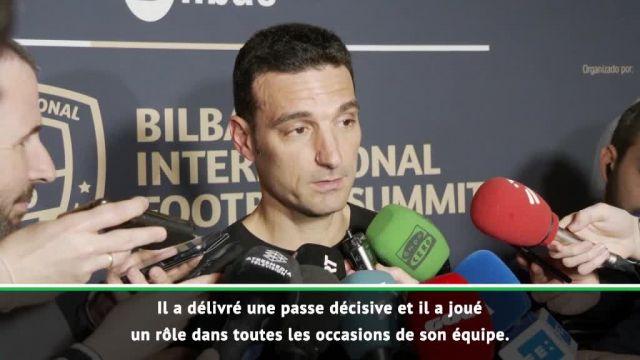 Football Foot – Barça – Lionel Scaloni, sélectionneur de l'Argentine : « Lionel Messi se despatched bien » au Barça