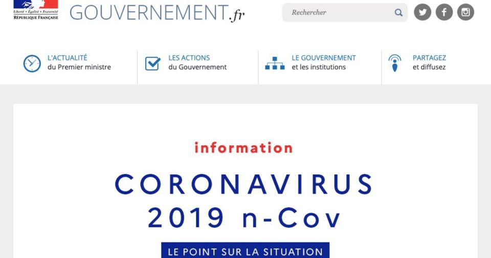 Animaux Face au coronavirus, le gouvernement lance un set apart d'files