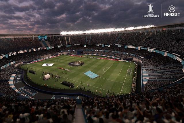 Football esport – La Copa Libertadores désormais jouable dans FIFA 20
