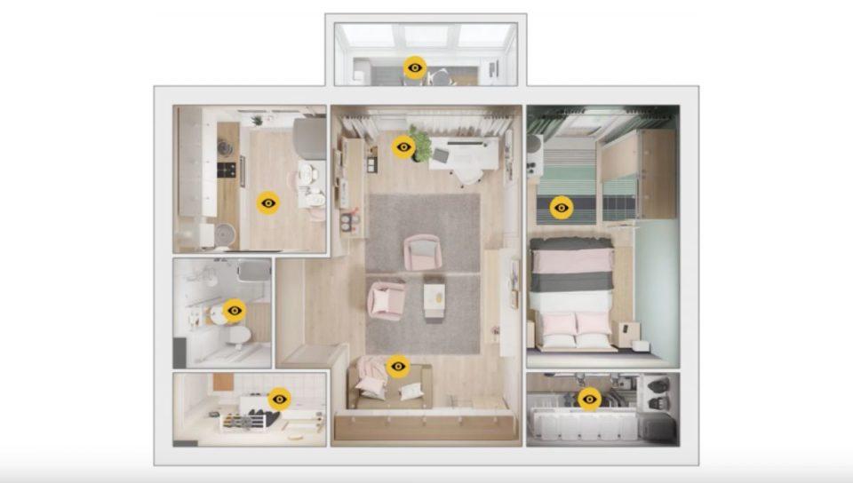 Bricolage Ikea veut meubler les appartements de l'ère soviétique