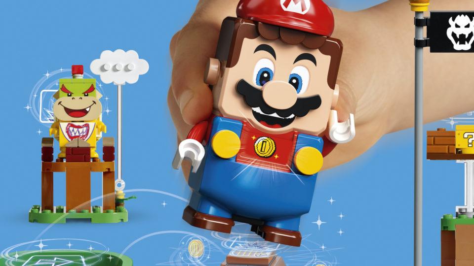 Jouets Mountainous Mario dans la vraie vie ? Nintendo et Lego l'ont fait