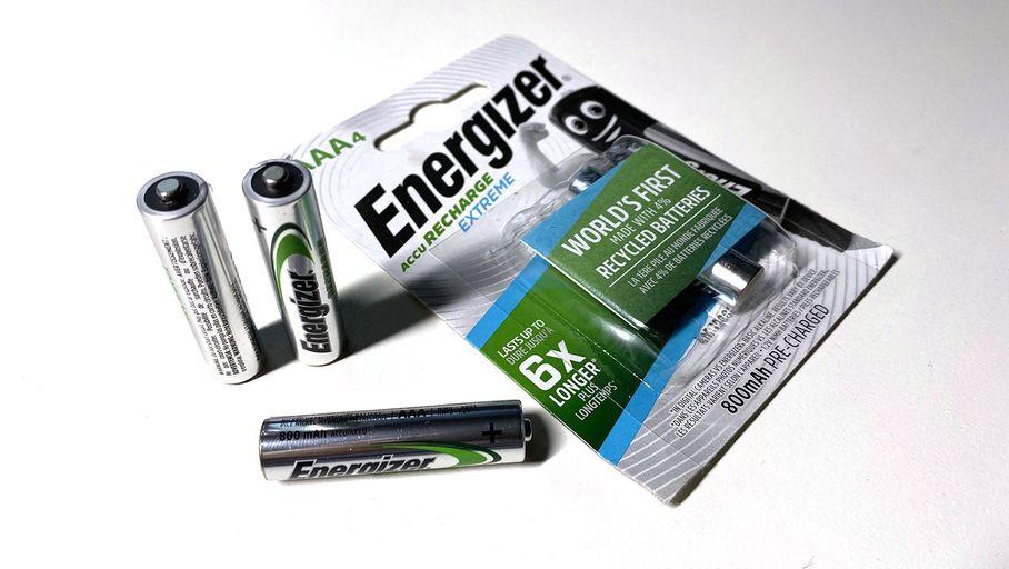 Jouet Test : Energizer Recharge Low : des piles rechargeables avec un soupçon de recyclage