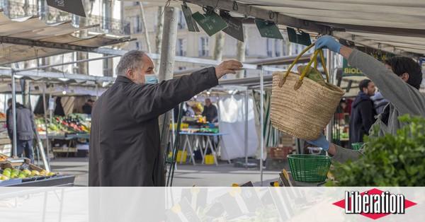 Jardin Les marchés et parcs parisiens étaient-ils réellement surfréquentés ce matin ?