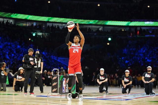 Basket Basket – NBA – ASG – All-Superstar Game : Buddy Hield (Sacramento) remporte le concours à trois components