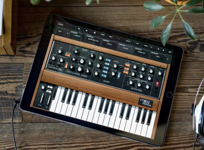 Musique Applications : les synthés de Korg et Moog gratuits pendant le confinement !