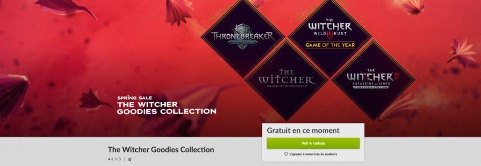 Jeux video Bon Opinion : GOG vous offre The Witcher Chocolates Assortment
