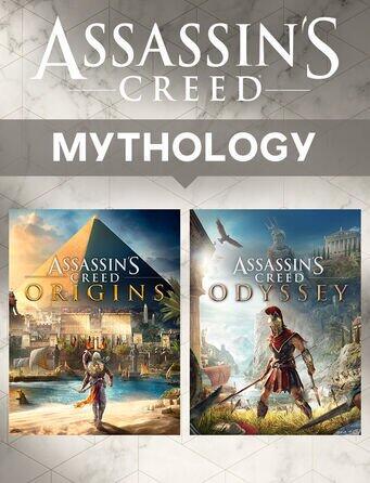 Jeux video Assassin's Creed Pack Mythologie (Origins et Odyssey) dématérialisé Uplay