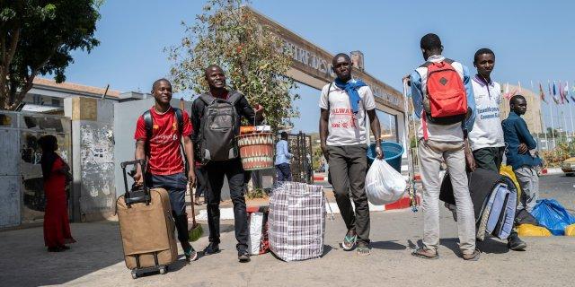 Bagage Coronavirus : des milliers d'étudiants désertent l'Ucad de Dakar