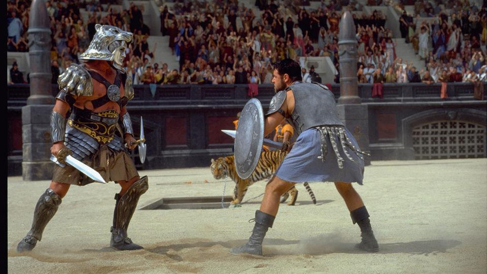 Jouet Gladiator sur TFX : quel fidèle complice de Schwarzenegger affronte Russell Crowe dans l'arène ?