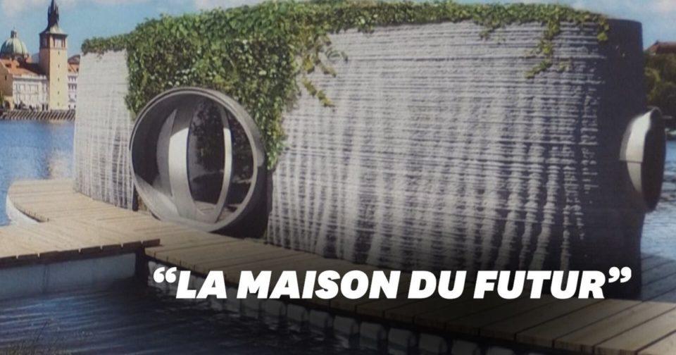 Jardin Une maison flottante imprimée en 3D en République tchèque
