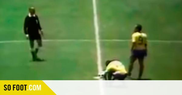 Chaussures de sport Le jour où Pelé a fait de la pub pour Puma pendant un match du Mondial 1970