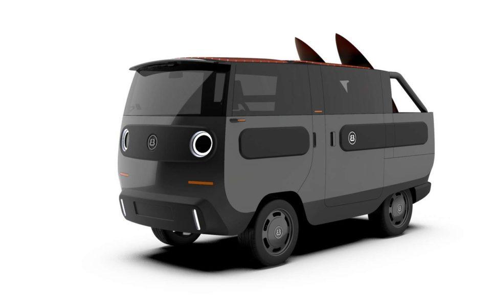 Camping eBussy, le combi électrique qui se transforme à volonté