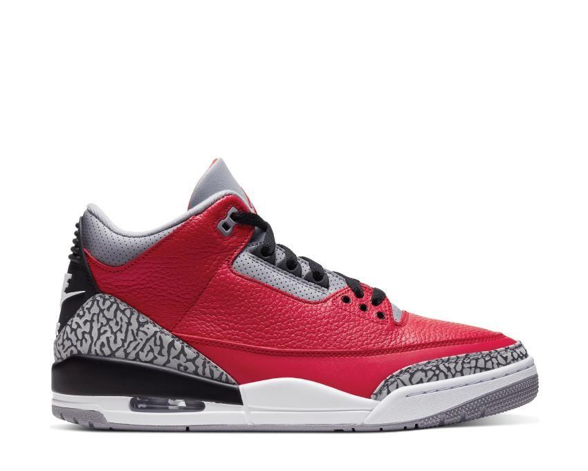 Chaussures Chaussures Jordan retro 3 SE red chicago (noirfonce.fr)