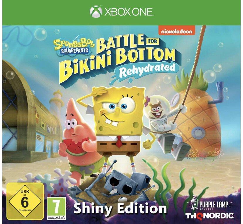 Bikini Spongebob Squarepants: Battle For Bikini Bottom Rehydrated – Sparkling Model sur Xbox One