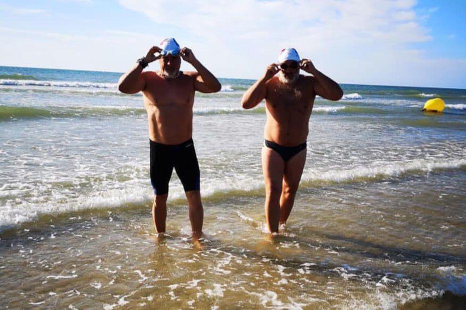 Maillot de bain Arnaud Chassery se lance vendredi dans la traversée de La Manche en duo