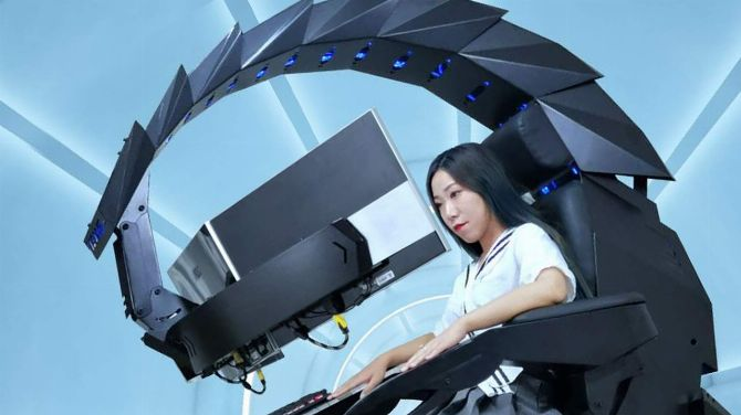 High-tech L'image du jour : Un siège gamer modulable « Scorpion » de FOLIE
