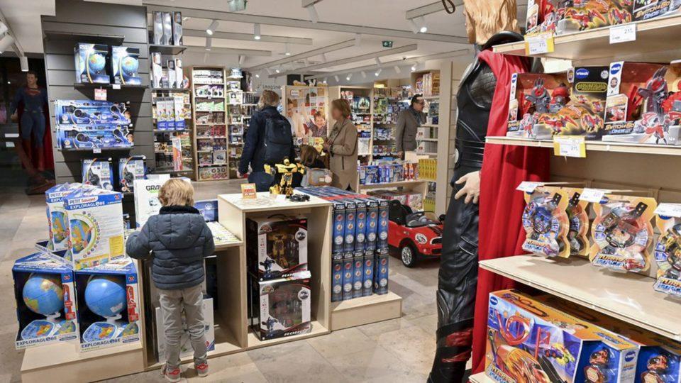Jouet Les ventes de jouets ont quasiment effacé les effets du confinement